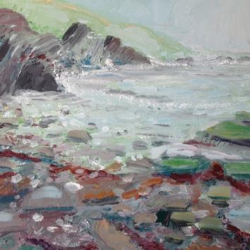 Lantivet rocky beach