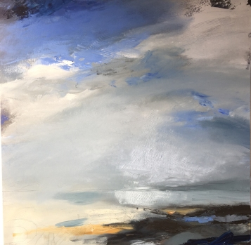 The Big Blue 70 x 70 cm SOLD