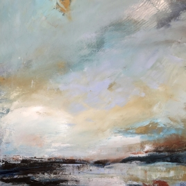 The Changing Sky 70 x 70 cm SOLD