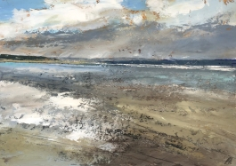 Reflections at Saunton 357 x 255 mm SOLD