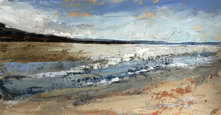 Sand and Sky, Croyde 355 x 190 mm