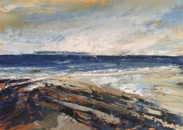 Windswept Croyde 357 x 255 mm SOLD