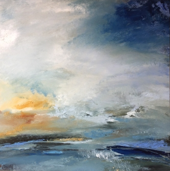 Journey Home 70 x 70 cm SOLD