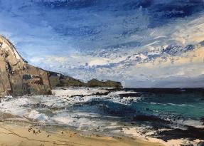 Blue skies in Cornwall SOLD