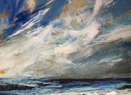 Windswept, Cornish sea SOLD