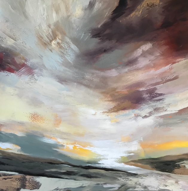 Going Home 100 x 100 cm SOLD