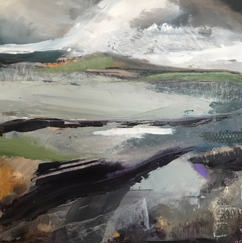 A Day on the Moor 50 x 50 cm