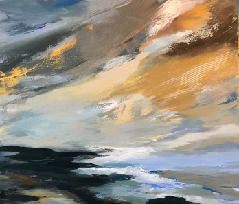Early Evening in Cornwall 80 x 70 cm £890