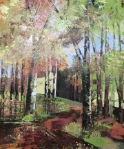 Walk into Autumn 60 x 70 cm SOLD