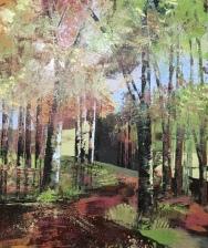 Walk into Autumn 60 x 70 cm