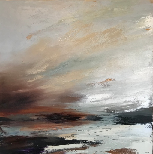 A winter's morning 50 x 50 cm £490