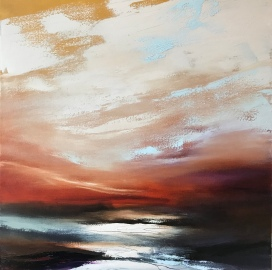 First Light 50 x 50 cm SOLD