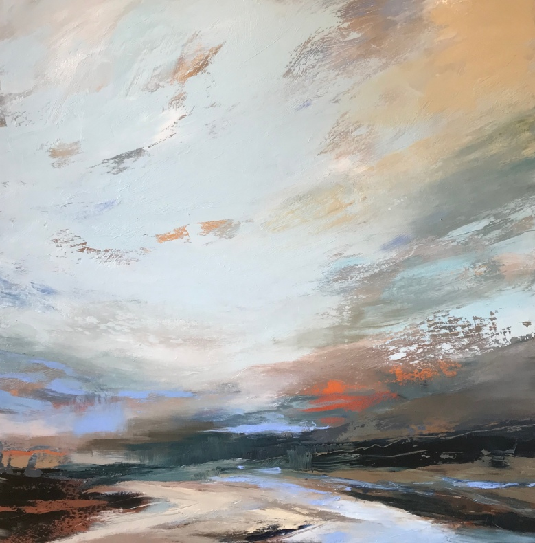 Last Light 80 x 80 cm SOLD