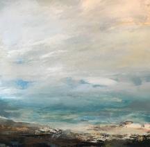 October Sky 80 x 80 cm £990