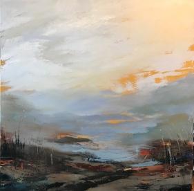 Winter Light 70 x 70 cm £990 Eastgate Gallery