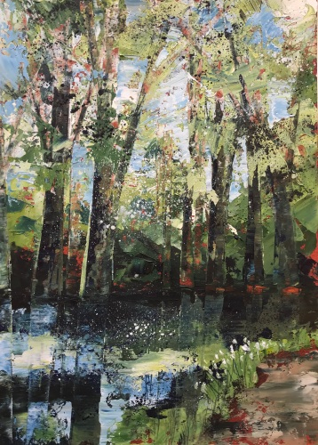 Canal Path 25 x 35 SOLD