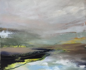 River Lines Oil on canvas 60 x 50 cm SOLD