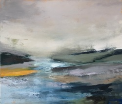 To the River Oil on canvas 70 x 60 cm SOLD