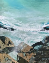 Take me to the Ocean 80 x 100 cm oil on canvas SOLD