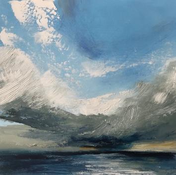 Rain Cloud oil on paper 30 x 30 cm £150