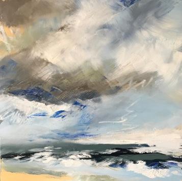 Salt and Sand 50 x 50 cm oil on canvas £490