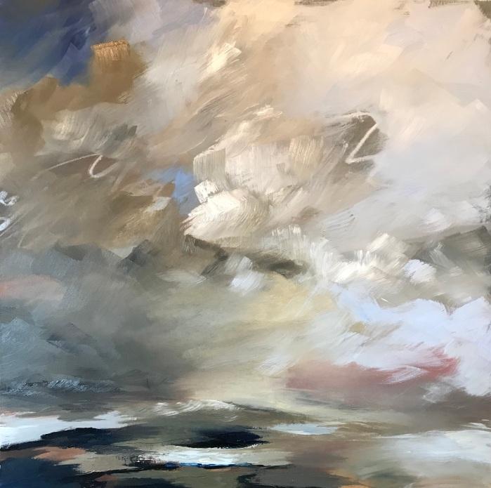 Sky Above Me 70 x 70 cm £890 SOLD