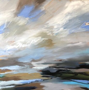 Staying At Home 70 x 70 cm £890 SOLD