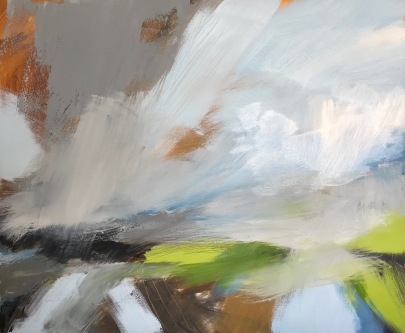 Out in the Open 60 x 50 cm oil on canvas £590 Lantic Gallery Tiverton