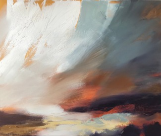 All We Have is Now 60 x 50 cm oil on canvas £590 Lantic Gallery