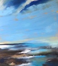 Clear Blue Skies 70 x 80 cm oil on canvas £890